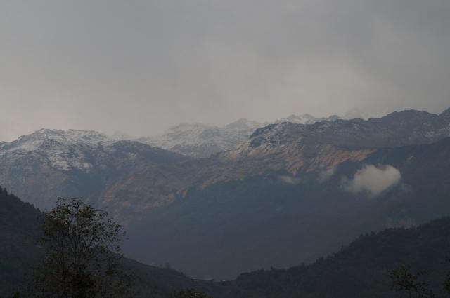 Ghandruk mountain view 1
