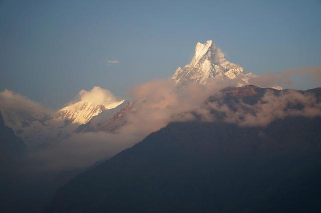Ghandruk mountain view 2