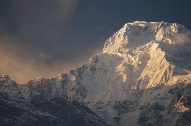 Ghandruk mountain view 3