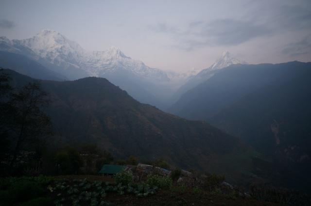 Ghandruk View from Snowland Lodge