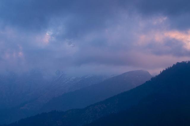 Ghorepani mountain view 1