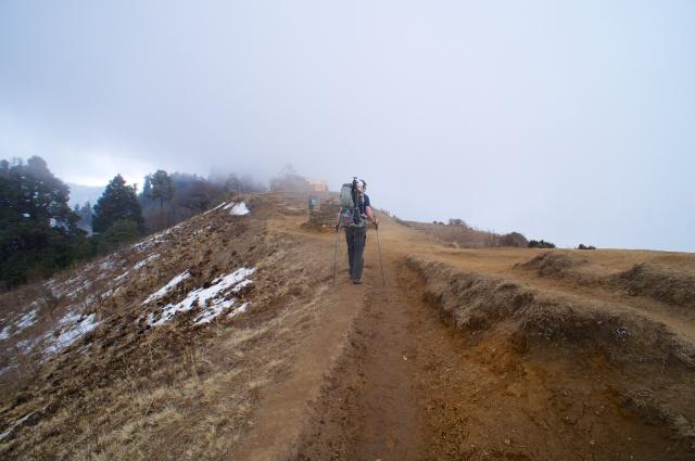 Ridge path at 3120m